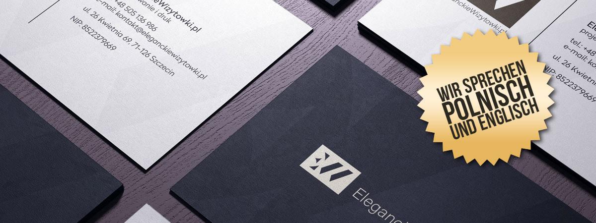 EleganteVisitenkarten.de – Design und Druck von Visitenkarten